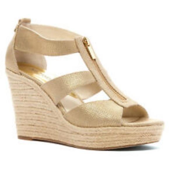92a8285f8c5 MK Damita Wedge Sandals